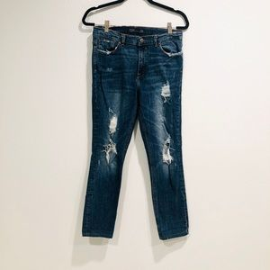 Zara Trafuluc Ripped Jeans in a Size 08- USA- 29